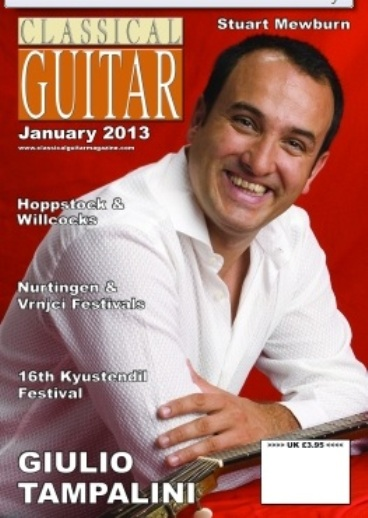 COVER CLASSICAL GUITAR MAGAZINE OK