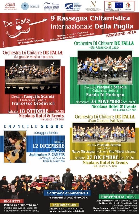 9° Rassegna Chitarristica Internazionale della Puglia