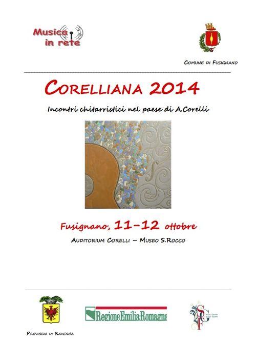 Corelliana 2014 - programma definitivo