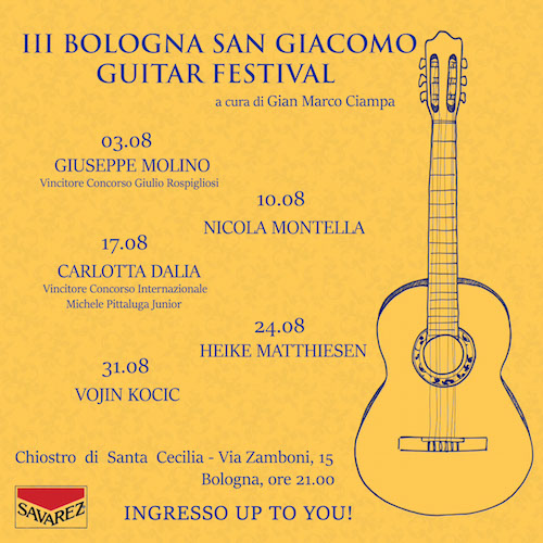 III san giacomo guitar bologna festival