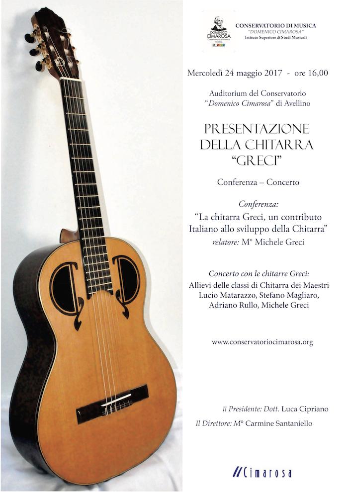 Locandina presentazione chitarra Greci web