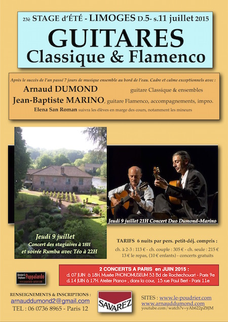 A STAGE 2015_LIMOGES Flyer2