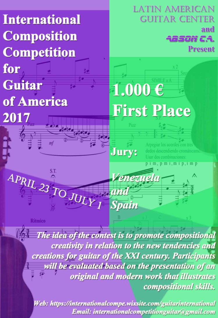 Flayer International Composition Competition ENGLISH