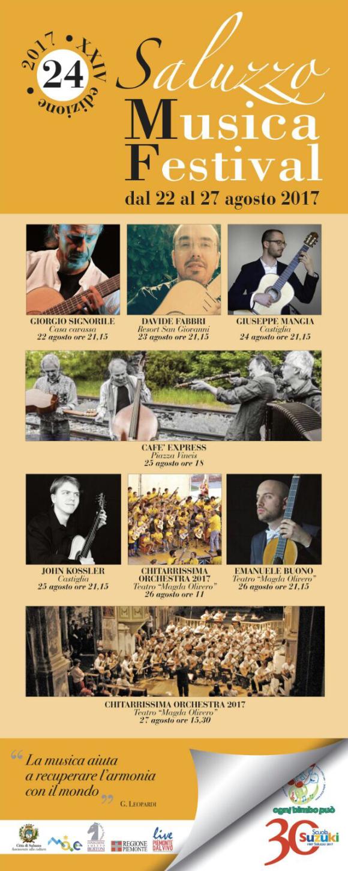 Chitarrissima 2017 - Saluzzo Musica Festival
