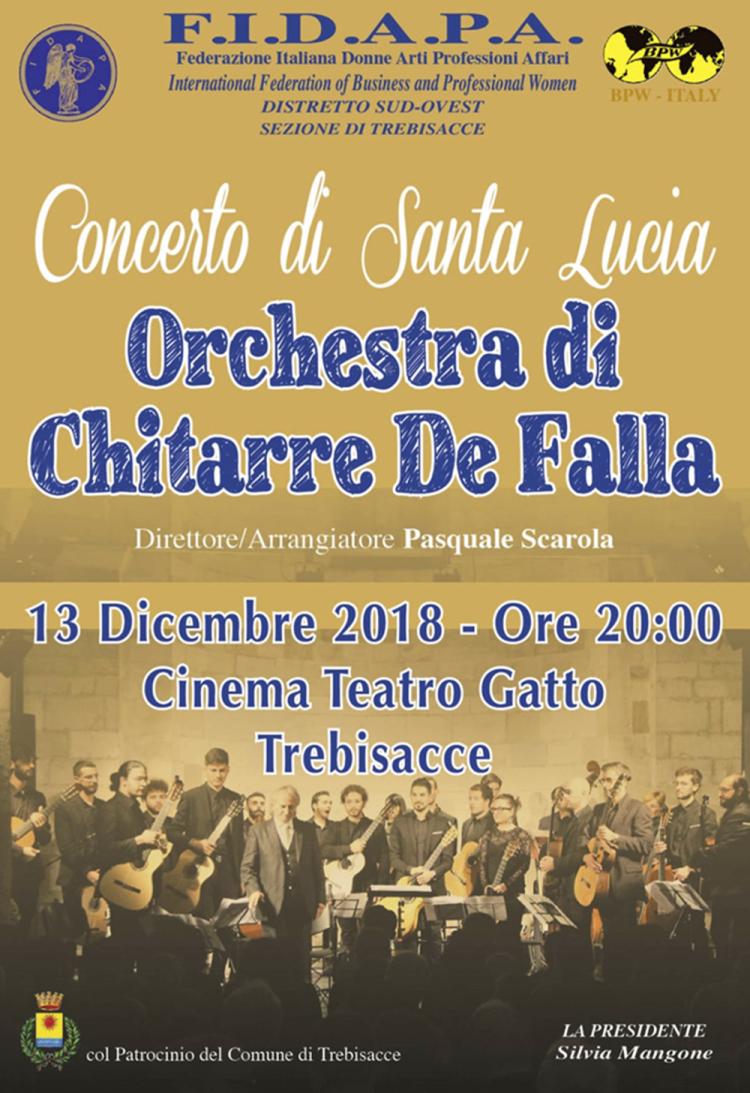Concerto De Falla a Trebisacce